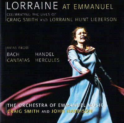 Lorraine Hunt at Emmanuel en el sello Aviè