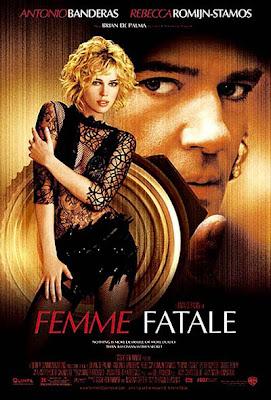 Un cartel de Femme fatale de Brian de Palma