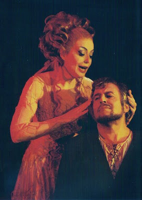 Spass Wenkoff y Gwyneth Jones en el Tannhäuser de Götz Friedrich para Bayreuth