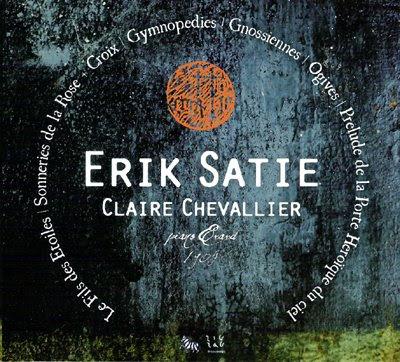Satie por Claire Chevallier
