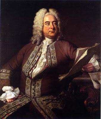 Haendel retratado por Thomas Hudson en 1748