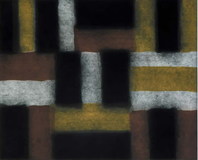 Wall of light black de Sean Scully