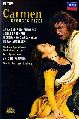 Carmen de Zambello y Pappano para Covent Garden en Decca