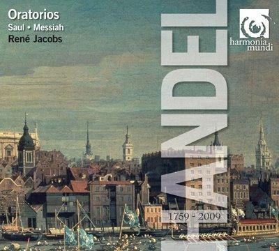 Oratorios de Haendel por René Jacobs en HM