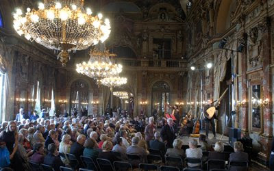 Scherzi Musicali en un concierto (© Charles Strijd)