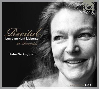 Recital de Lorraine Hunt en Ravinia