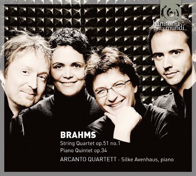 Cuarteto y Quinteto de Brahms por el Arcanto Quartet y la pianista Silke Avenhaus