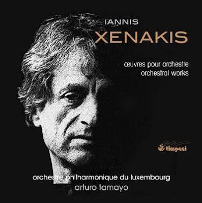 Obras orquestales de Xenakis por Arturo Tamayo en Timpani