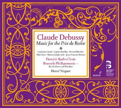 Debussy el Premio de Roma por Hervé Niquet en Glossa