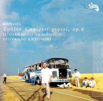 Concerti grossi Op.6 de Haendel por Il Giardino Armonico