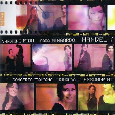 Dúos y arias haendelianos de Sandrine Piau y Sara Mingardo con Alessandrini