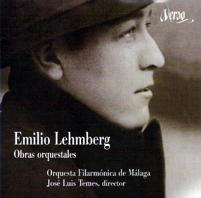 Obras orquestales de Emilio Lehmberg por José Luis Temes y la Filarmónica de Málaga en el sello Verso
