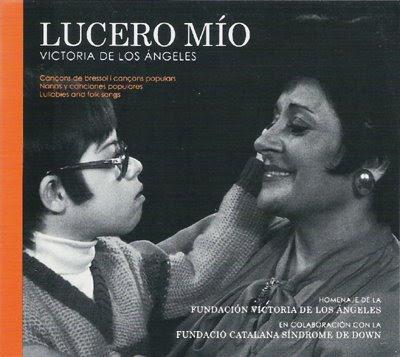Lucero mío, nanas y canciones populares por Victoria de los Ángeles
