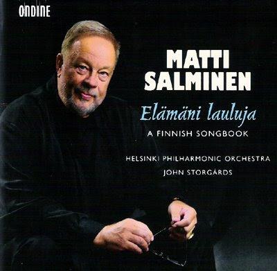 Matti Salminen canta canciones de compositorwes finlandeses