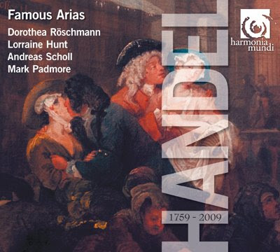 Famous arias en la Edición Haendel de Harmonia Mundi