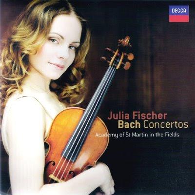 Julia Fischer toca a Bach en Decca