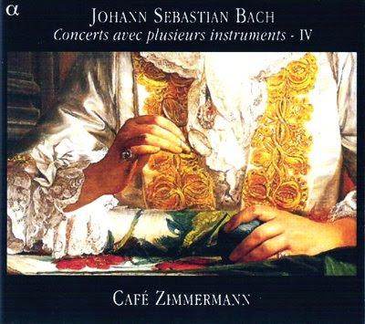 El cuarto volumen de Conciertos de Bach de Café Zimmermann en Alpha