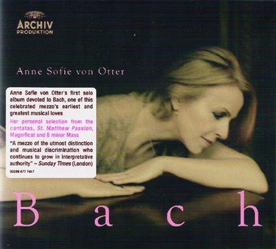 El nuevo disco de Bach de Anne-Sophie Von Otter