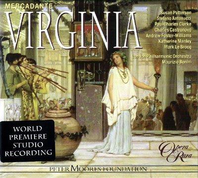Virginia de Mercadante, nueva referencia de Opera Rara
