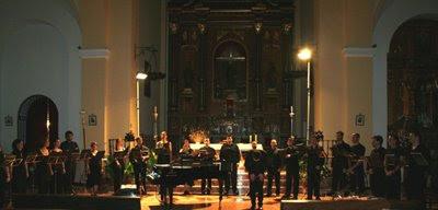 El Coro Barroco de Andalucía en la iglesia de Alájar (2006)