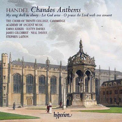 Chandos Anthems de Haendel por Stephen Layton en Hyperion