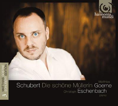 La bella molinera, tercer volumen schubertiano de Matthias Goerne para Harmonia Mundi