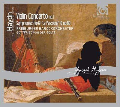 Haydn - Concierto para violín y Sinfonías 49 y 80. Barroca de Friburgo. Gottfried von der Goltz