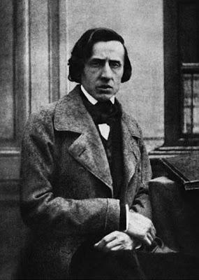 Chopin fotografiado por Louis-Auguste Bisson al final de su vida