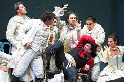 La mujer silenciosa de Strauss/Zweig en el Teatro de la Maestranza - Ensayo general, 1-10-09 (© Juan Carlos Muñoz / Diario de Sevilla)
