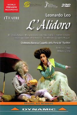 L'Alidoro de Leonardo Leo en Dynamic