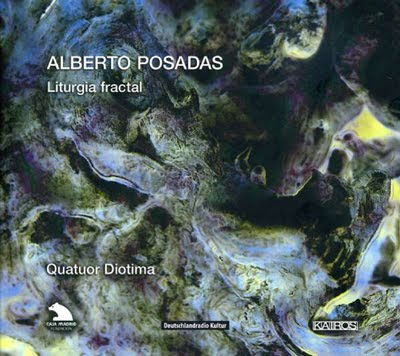 Liturgia fractal de Alberto Posadas por el Cuarteto Diotima en Kairos