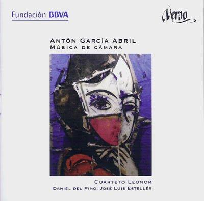 Música de cámara de Antón García Abril en el sello Verso