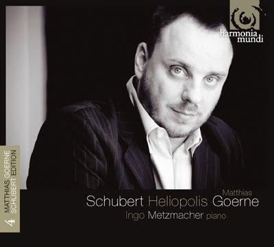 Cuarto volumen de lieder de Schubert por Matthias Goerne