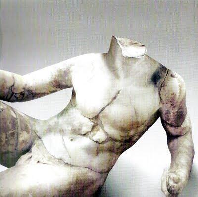 Mármol romano del siglo I en el Museo Arqueológico Ephesus de Selçuk, Turquía