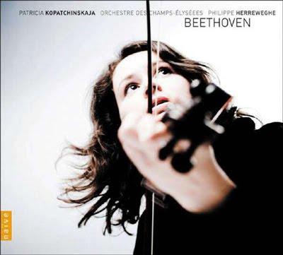 Kopatchinskaja toca con Herreweghe la obra para violín y orquesta de Beethoven