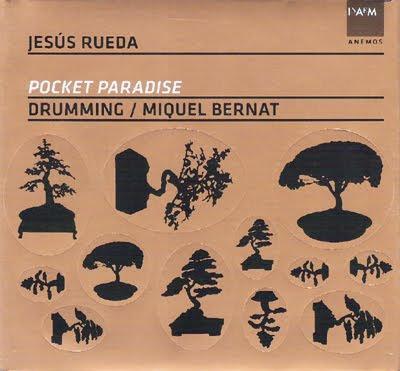 Música para percusión de Jesús Rueda por Drumming de Miquel Bernat