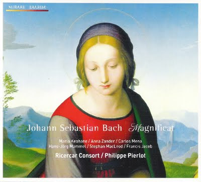El Magnificat de Bach por Philippe Pierlot en Ricercar