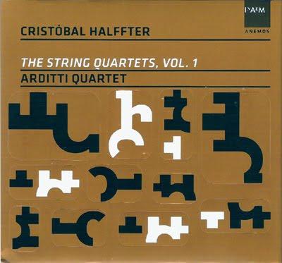 Primer volumen de cuartetos de cuerda de Cristóbal Halffter por el Cuarteto Arditti
