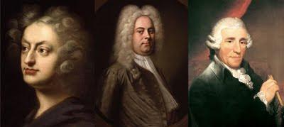 Tres protagonistas musicales de 2009: Purcell, Haendel y Haydn