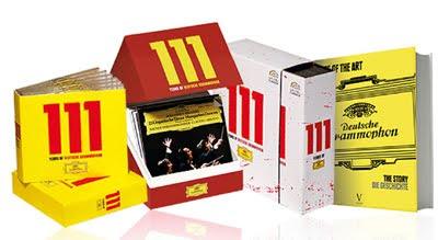 Edición conmemorativa del 111 aniversario de Deutsche Grammophon