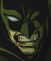 Batman is really angry! He's getting dark! ;-p