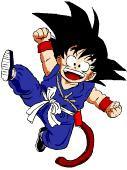 Goku's got a tail!