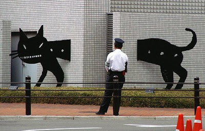 Escultura em paredes