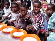 Una caravana virtual para alimentar a los niños refugiados