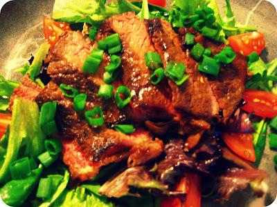 Ginger Steak Salad - Wellsphere