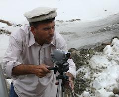 Uzunov in Afghanistan 2007