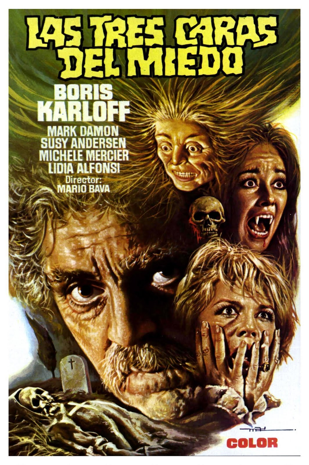 The Cathode Ray Mission: Hump Day Posters: Mario Bava edition