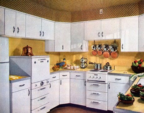 1950 Kitchen Inspiration Cdianne Zweig  Kitsch 'n Stuff Looking At 1950's Kitchens Decorating Design