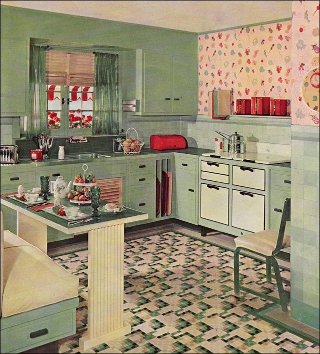 C dianne zweig kitsch 39 n stuff gallery of 1930 39 s for Modern kitchen in 1930s house