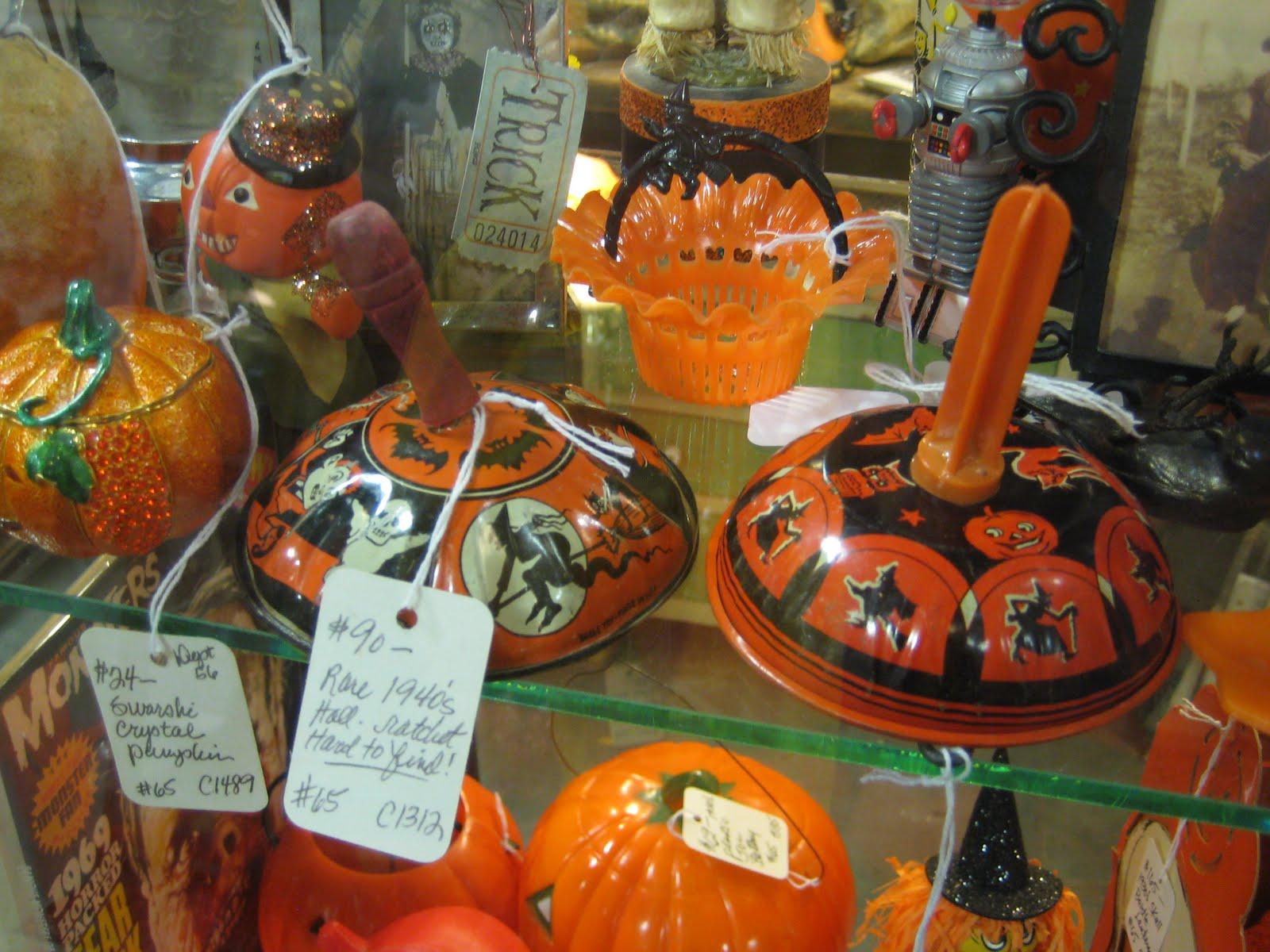 c. dianne zweig - kitsch 'n stuff: tips on collecting halloween
